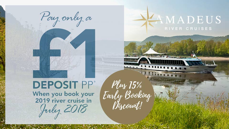 Amadeus River Cruises Sale