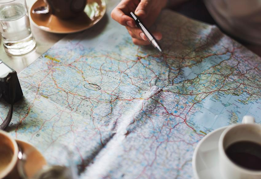 Map Planning Adventure