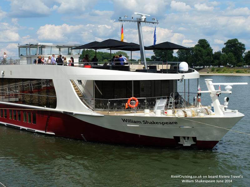 riviera travel ship william shakespeare