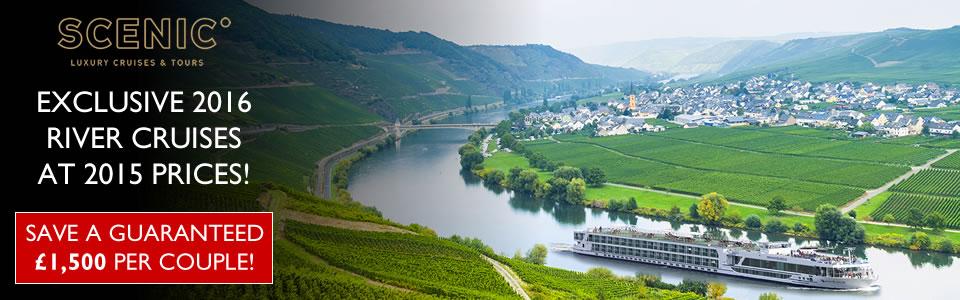 Scenic River Cruises 2016