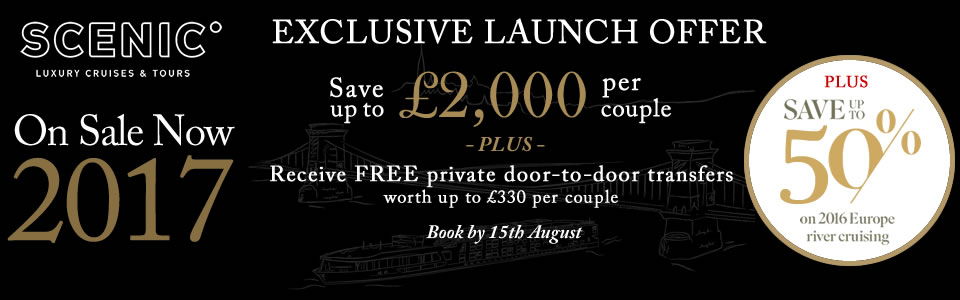 Scenic 2017 Launch Offer & 2016