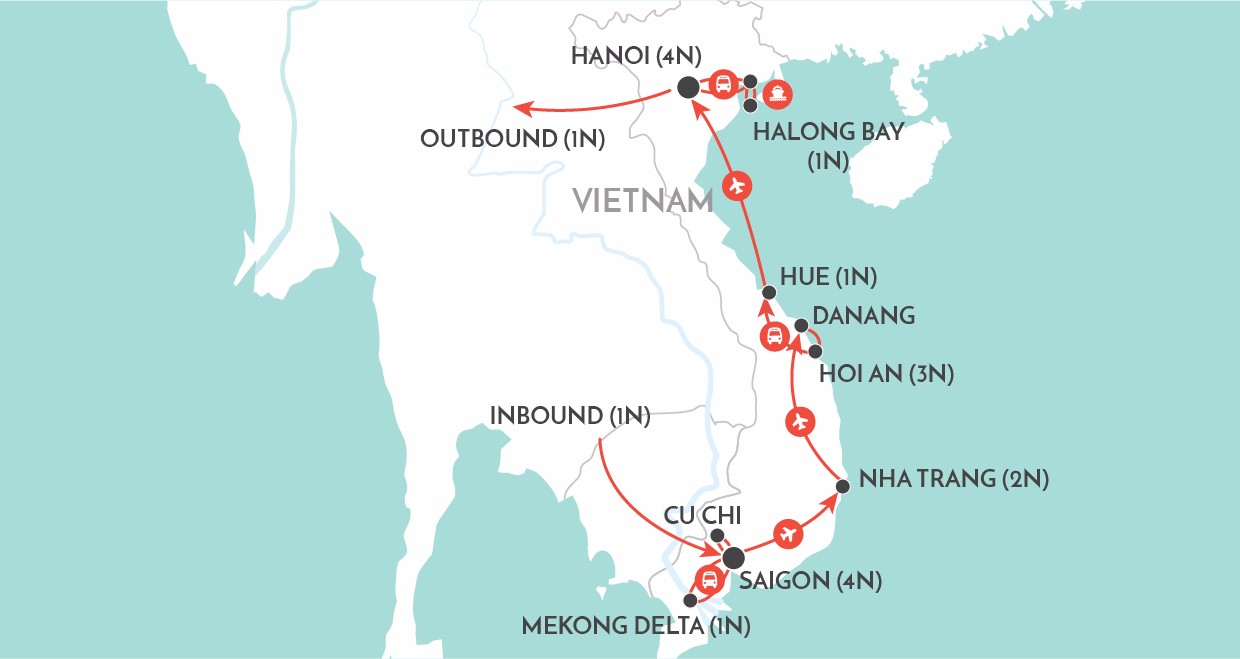 Wendy Wu Tours Vietnam Highlights