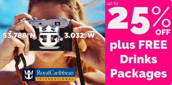 Royal Caribbean - 2017 cruises