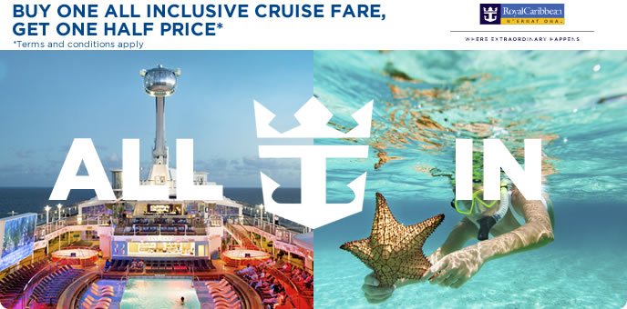 Royal Caribbean - All Inclusive Cruises & amazing savings