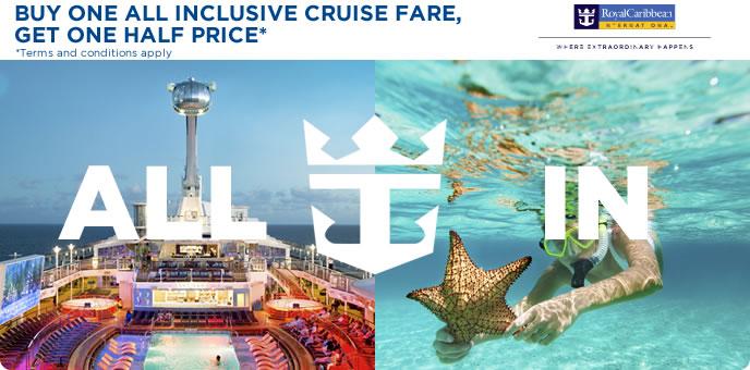 Royal Caribbean - All Inclusive Cruises & amazing savings