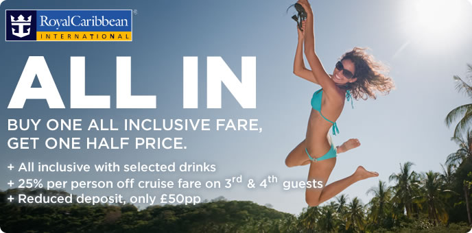 Royal Caribbean - All Inclusive Cruises & low deposit