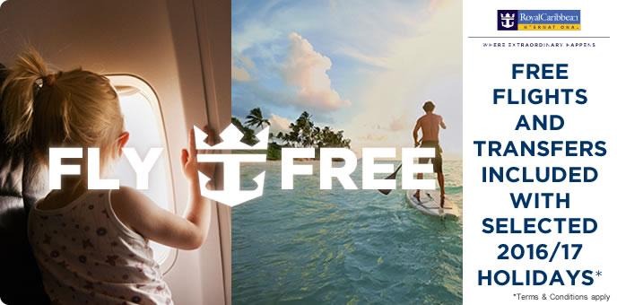Royal Caribbean - Free Flights to Europe