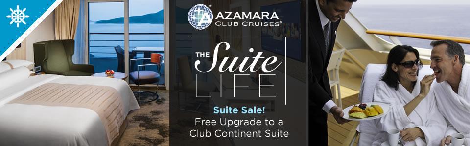Azamara Club Cruises - Suite Sale