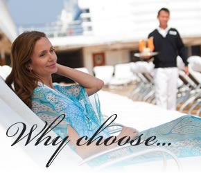 Regent Seven Seas - Why upgrade to a concierge suite?