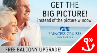 Princess Cruises - Free Upgrade To Balcony