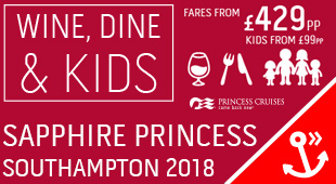 2017 Princess Cruises from Southampton