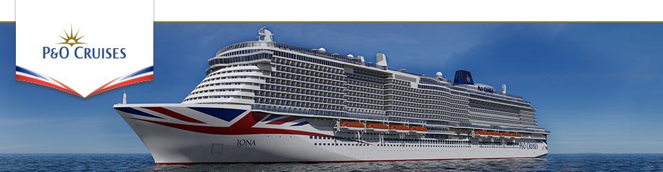 P&O Cruises Iona Ship