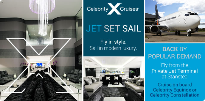 Celebrity Cruises - Jet Set Sail