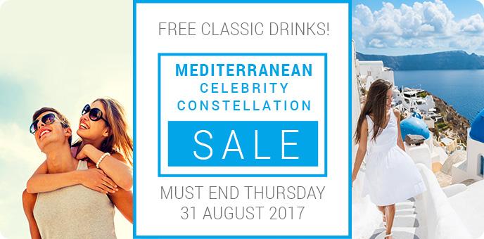 Celebrity Cruises - Constellation Mediterranean 2018