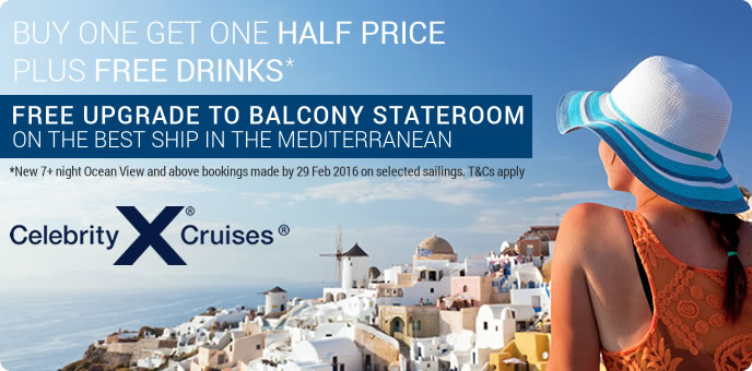 Celebrity Cruises - Celebrity Reflection in the Mediterranean