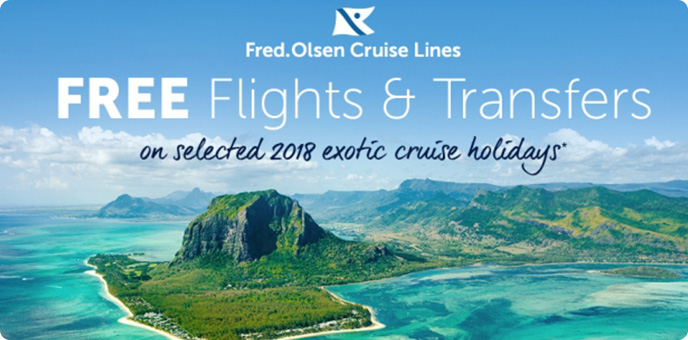 Fred Olsen Cruise Line - Free Flights & Anchor Fares