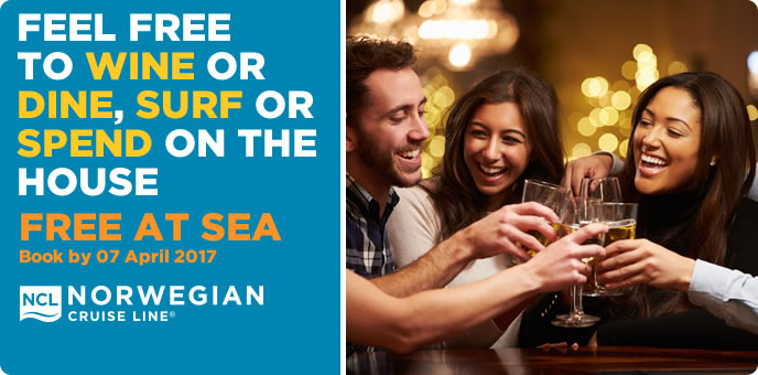 Norwegian Cruise Line - Be Free At Sea