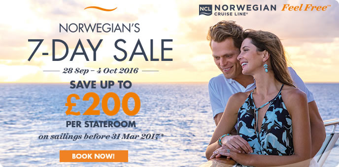 Norewegian Cruise Line Sale