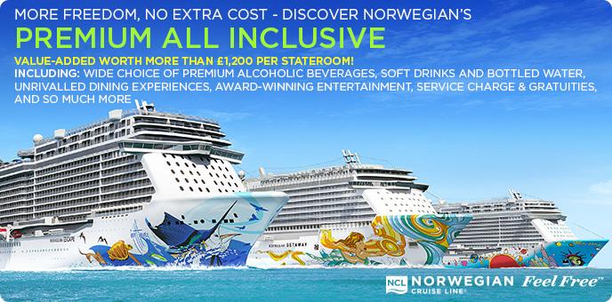 Norwegian Cruise Line Premium All Inclusive