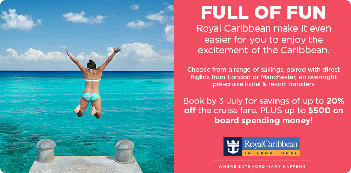 Royal Caribbean Cruises - Savings & Onboard Spending Money