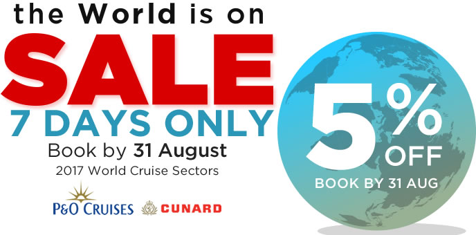 World Cruise Sale