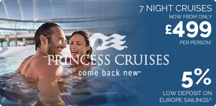 Princess Cruises from £499pp