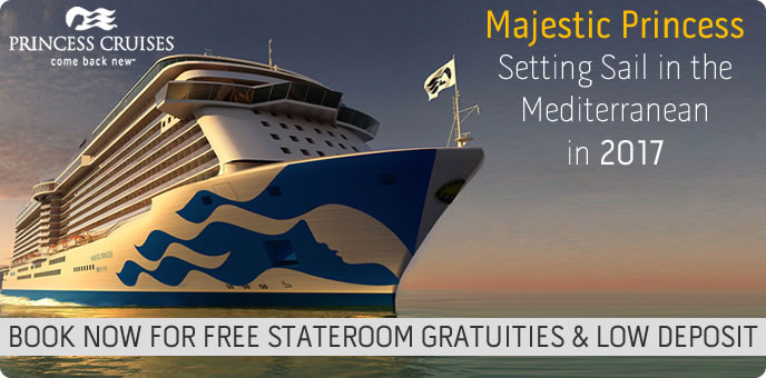 Princess Cruises - New Ship - Majestic Princess 2017