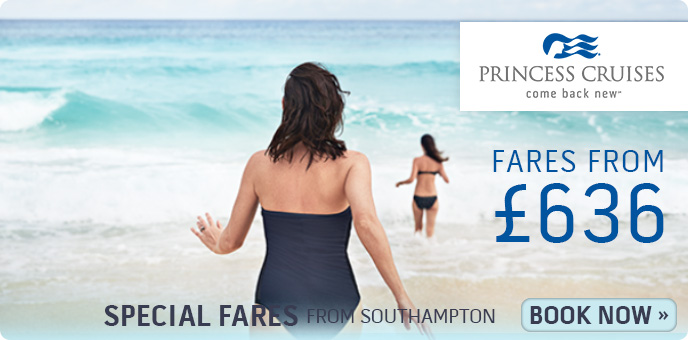 Princess Cruises Southampton Special Offers