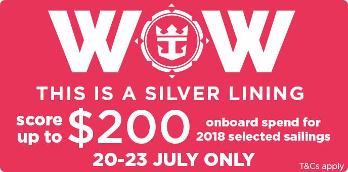 Royal Caribbean - Onboard Spending Money