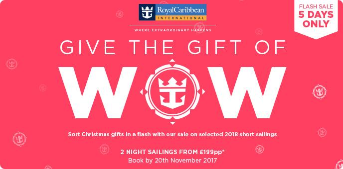 Royal Caribbean - Flash Sale