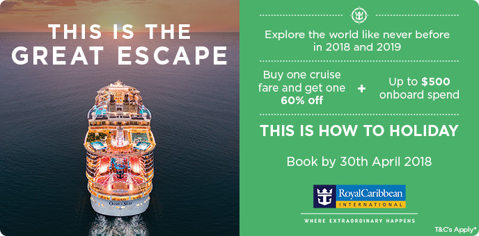 Royal Caribbean - This is the great escape