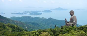 Lantau Island's Giannt Buddha