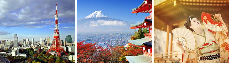 Tokyo, Japan & Taiwan