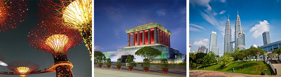 Singapore, Ho Chi Minh & KL