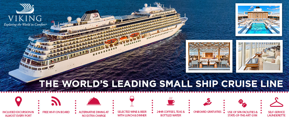 Viking Ocean - Luxury Cruise Deals