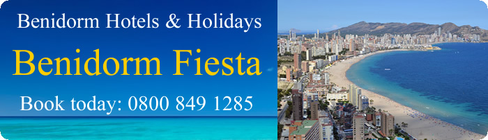 Benidorm Fiesta Holidays and Hotels