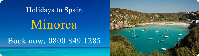 Holidays to Minorca