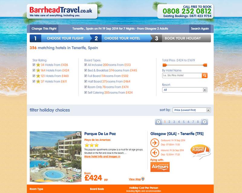 Barrhead Travel Package Holidays
