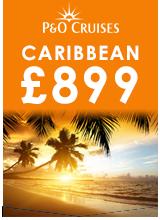 P&O Cruises Caribbean £899 Campaign Badge