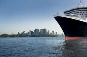 The iconic Queen Mary 2; Cunard's flagship.
