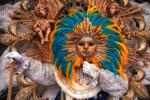 Le Roi Soleil Mask, Rio de Janeiro carnival
