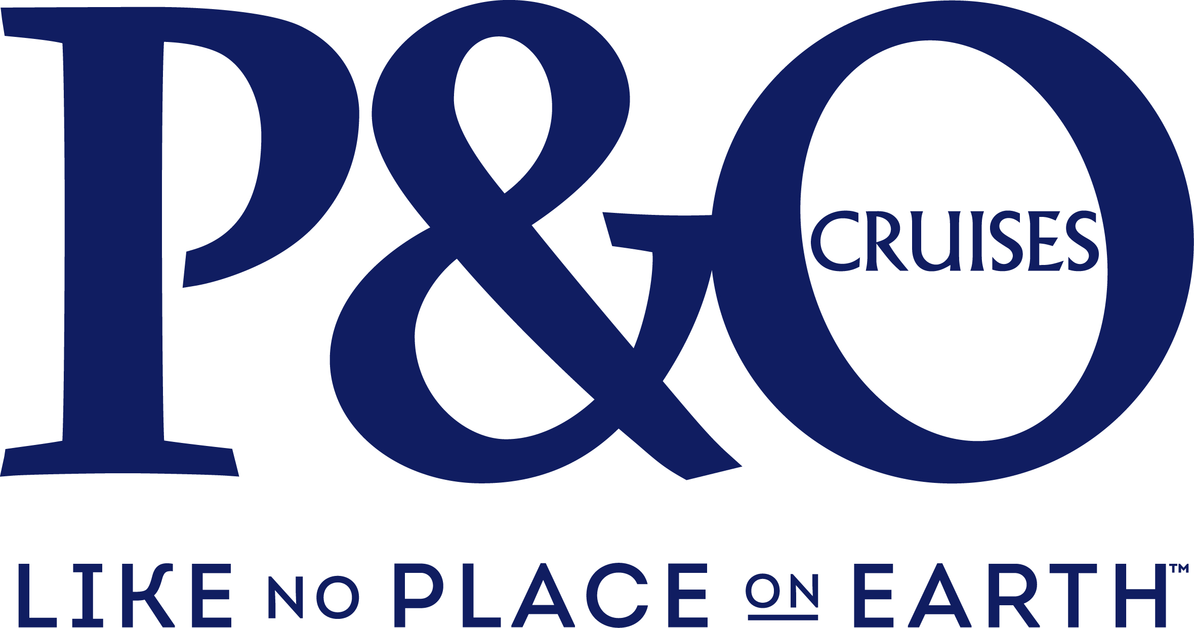 Image result for p&o cruises like no place on earth logo