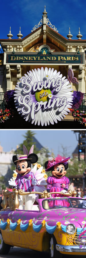 Springtime at Disneyland® Paris