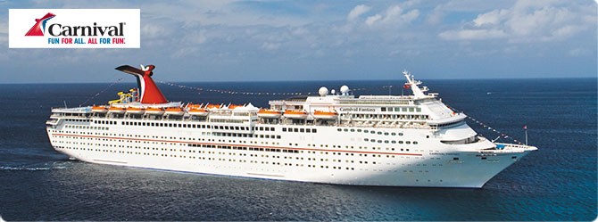 Carnival Cruises with the Carnival Fantasy