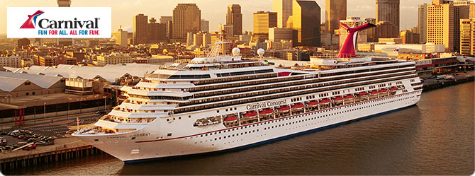 Carnival Cruises with the Carnival Conquest