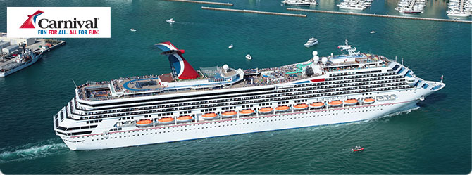 Carnival Cruises with the Carnival Glory