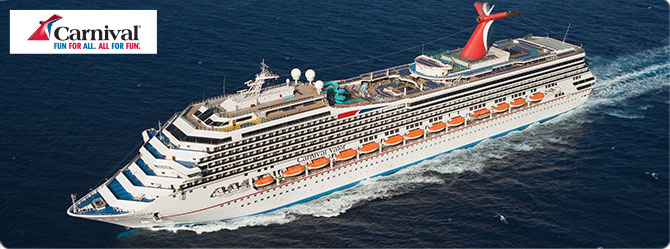 Carnival Cruises with the Carnival Valor