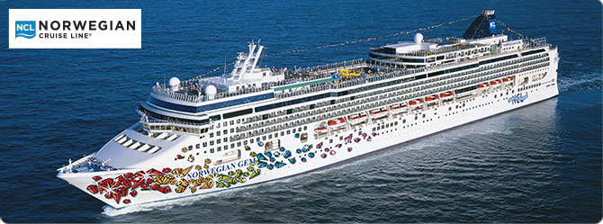 Norwegian Cruise Line Gem Ship