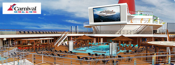 Carnival Cruises with the Carnival Sunshine