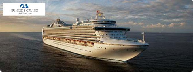 Princess Cruise Line Crown Princess Ship